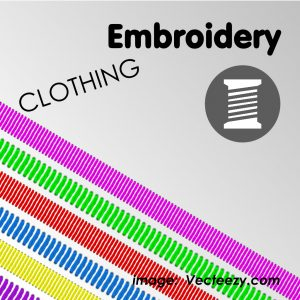 Clothing for Embroidery